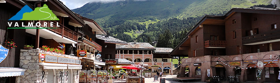 Summer walking and cycling holidays in Valmorel, France