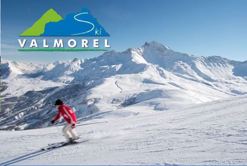 Skiing at Valmorel Ski Resort in France