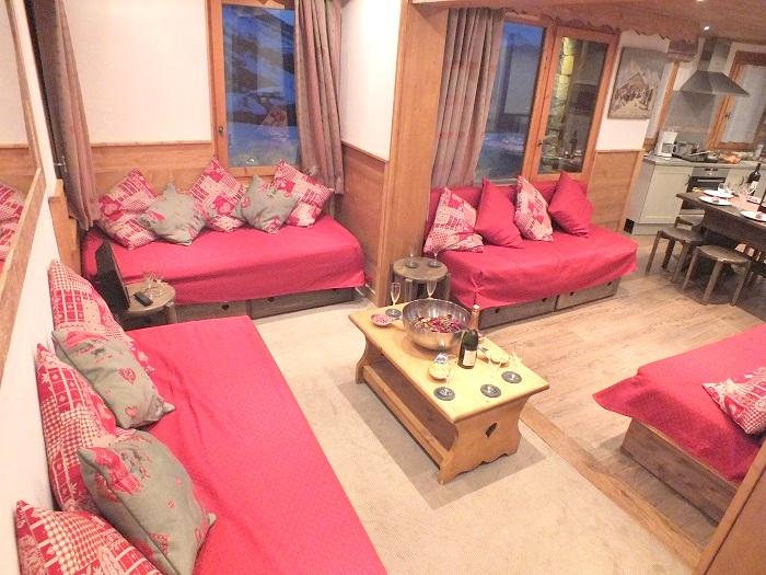 Marmotte - Lounge area